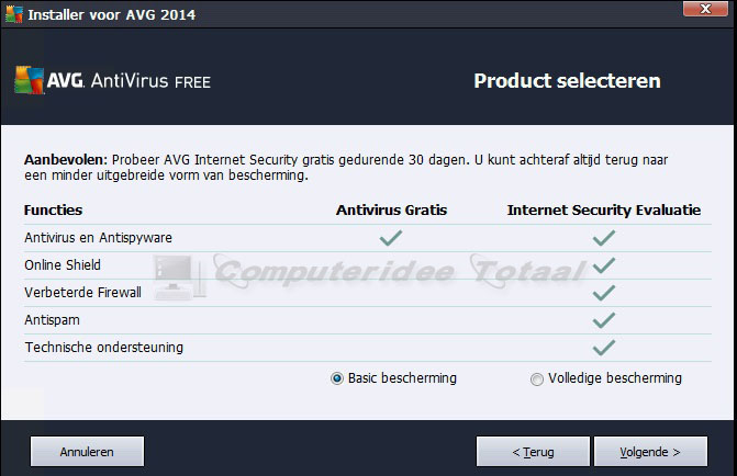 AVG downloaden en installeren