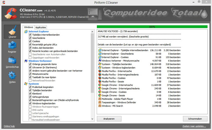 Ccleaner windows 10 zip extractor - Created and owned