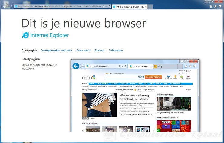 Internet Explorer 11 downloaden en configureren