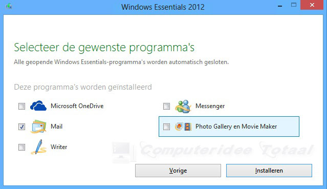 Windows Live Mail downloaden