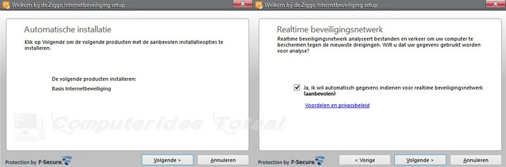 Ziggo Internetbeveiliging installeren