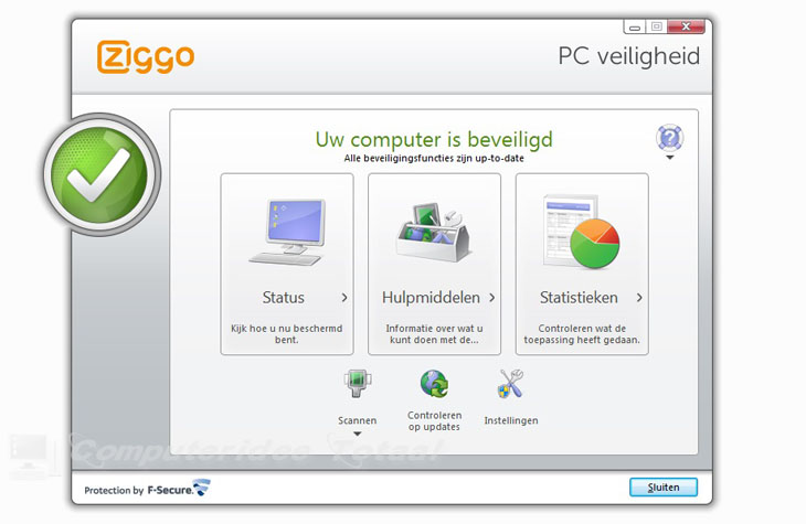 Ziggo Internetbeveiliging